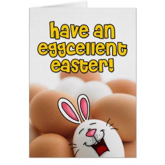 Tenga una Pascua eggcellent Tarjeta De Felicitación