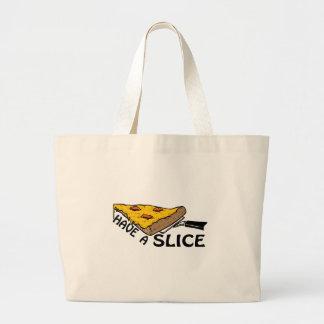 Tenga una rebanada bolsas