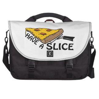 Tenga una rebanada bolsas de portátil