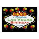 ¡Tenga una tarjeta de cumpleaños fabulosa de Las V