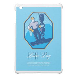 Tenga una tarjeta de felicitación retra del gran D