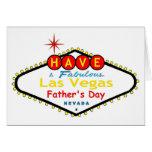 Tenga una tarjeta fabulosa del día de padre de Las
