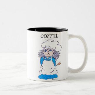 Tenga una taza de café, él es al…