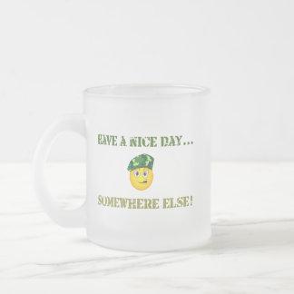 Tenga una taza Niza del día