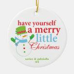 Tenga usted mismo los Felices pequeños Navidad Adorno Para Reyes
