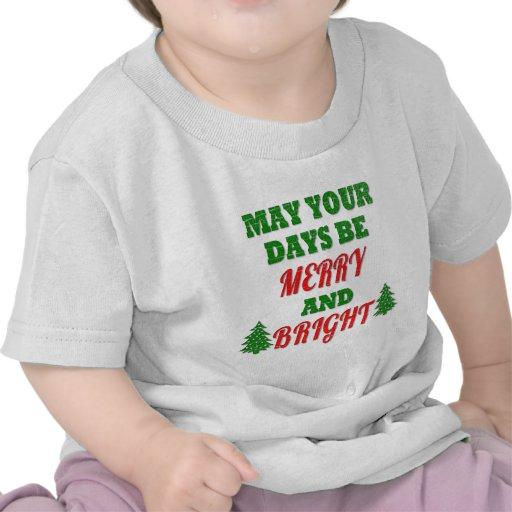 Tenga usted mismo los Felices pequeños Navidad Camisetas
