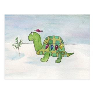 Tenga usted mismo los Felices pequeños Navidad Tarjetas Postales