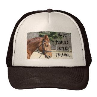 TENGA VIAJE DE HORSEWILL GORRO DE CAMIONERO