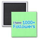 Tengo 1000+ Seguidores Iman De Frigorífico