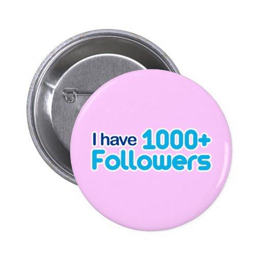 Tengo 1000+ Seguidores Pin Redondo 5 Cm