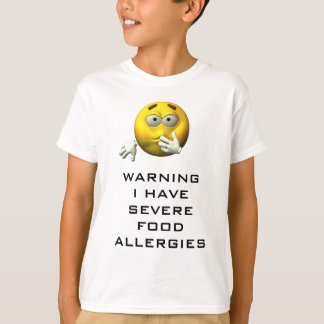 Tengo alergia alimentaria camisas