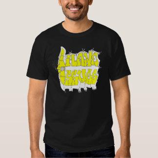 Tengo amarillo y plata de los problemas (estilo de camisas