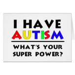 Tengo autismo tarjetón