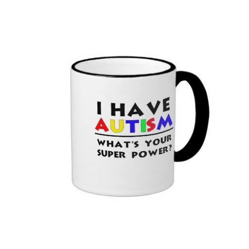 Tengo autismo tazas