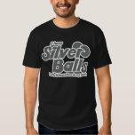 Tengo bolas de plata que es Christmastime en mis Playeras