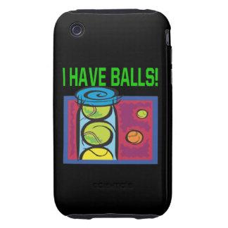 Tengo bolas iPhone 3 tough fundas