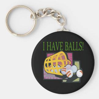 Tengo bolas llavero redondo tipo pin