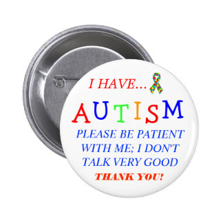 """""""Tengo botón de autismo"""" Pins"""