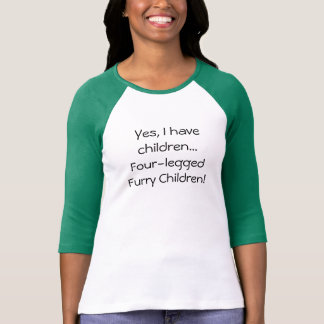Tengo camisa peluda Cuatro-legged de los niños de