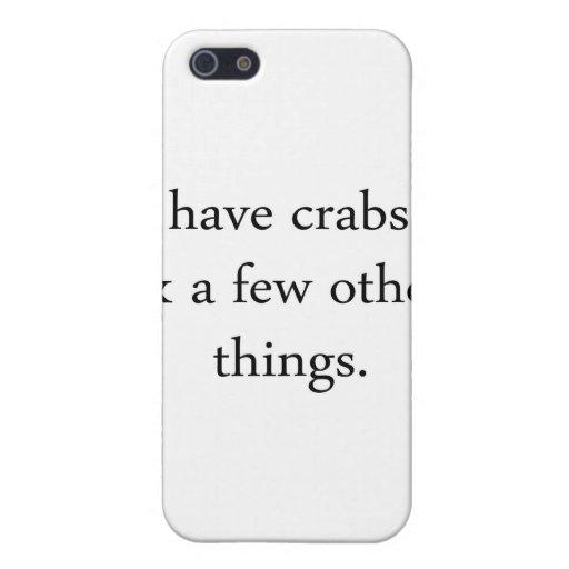 Tengo cangrejos… iPhone 5 protector