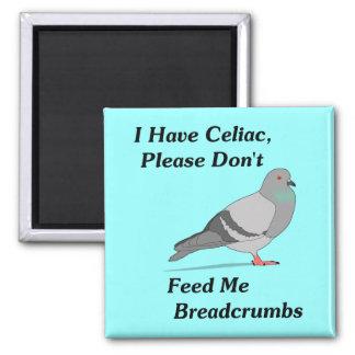 Tengo celiaco por favor no me alimento migajas de imanes