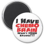 Tengo cerebro de Chemo Imán Para Frigorifico
