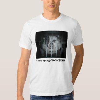 ¡Tengo CONVICCIONES fuertes! Camiseta Camisas