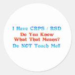 Tengo CRPS RSD usted sé lo que ese significa Etiquetas