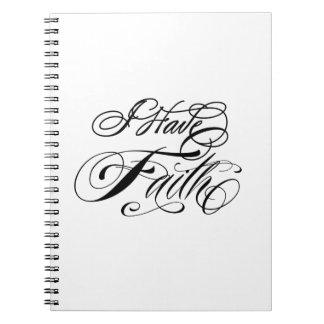 Tengo cuaderno de la fe
