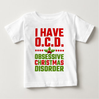 Tengo desorden obsesivo del navidad de OCD Playera