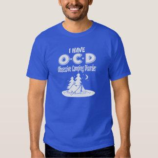 Tengo desorden que acampa obsesivo de OCD Remera