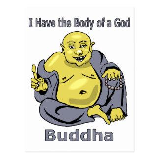 Tengo el cuerpo de dios - Buda Tarjeta Postal