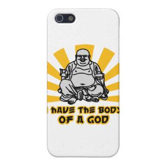 tengo el cuerpo de dios iPhone 5 carcasa