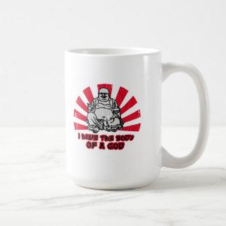 tengo el cuerpo de dios tazas de café
