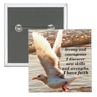 Tengo el faith_ Button_by Elenne Pin