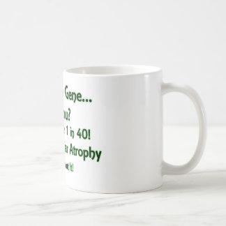 ¿Tengo el gen - hace usted? Verde Tazas De Café