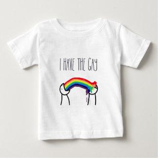Tengo el meme gay playera para bebé