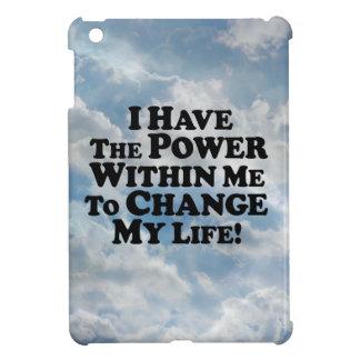 Tengo el poder de cambiar - Multi-Productos iPad Mini Protector
