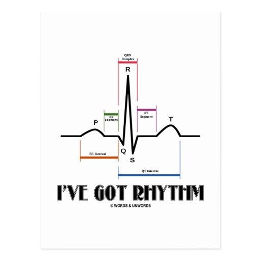 Tengo el ritmo (ECG/EKG - el esquema del carril de Postal