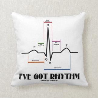 Tengo el ritmo (el electrocardiograma de ECG/de Almohada