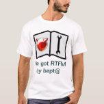 Tengo el RTFM por el bapt@ Playera