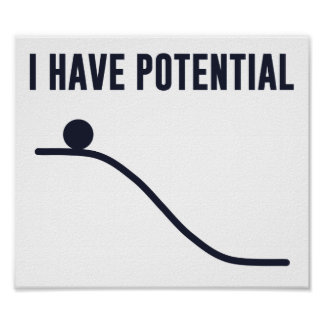 Tengo energía potencial impresiones