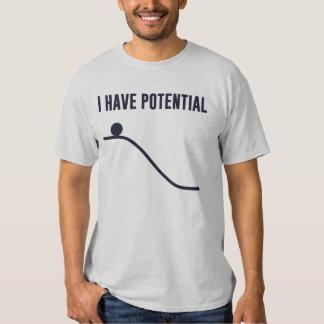 Tengo energía potencial polera