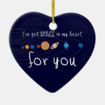 Tengo espacio en mi corazón para usted ornamento para reyes magos