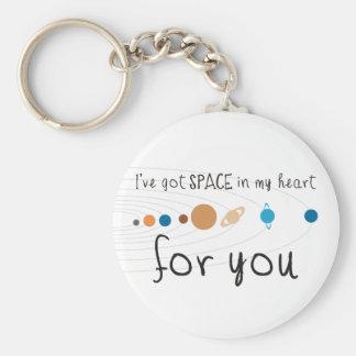 Tengo espacio en mi corazón para usted llavero personalizado