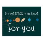Tengo espacio en mi corazón para usted postales