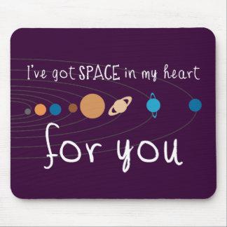 Tengo espacio en mi corazón para usted alfombrilla de raton