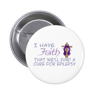 Tengo FE que encontraremos una curación para la ep Pin Redondo De 2 Pulgadas