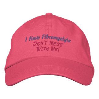 ¡Tengo Fibromyalgia no hago MessWith yo - Gorra Gorras Bordadas