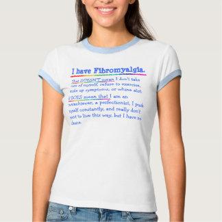 Tengo Fibromyalgia Remeras